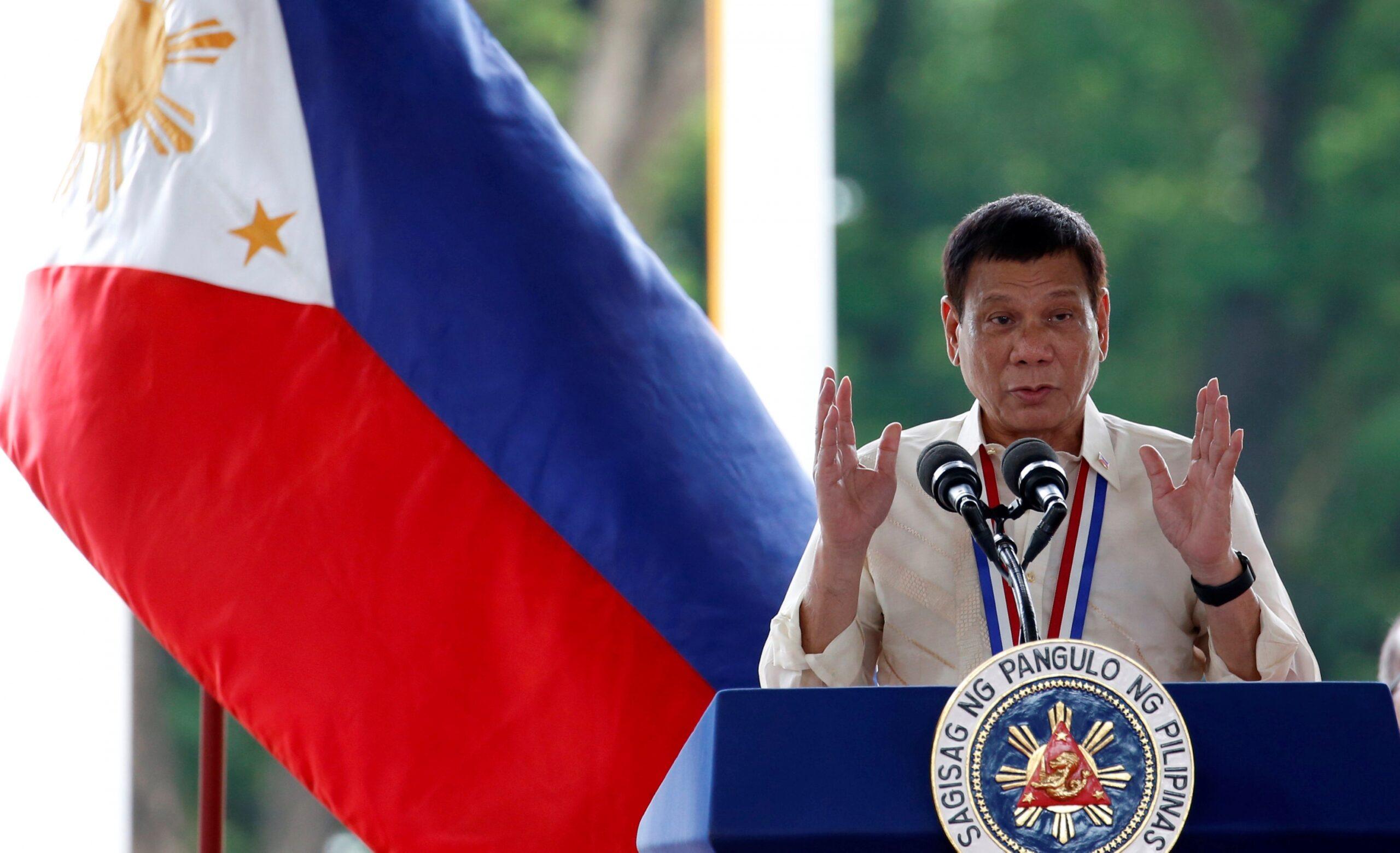 Philippines president pardons US marine in transgender killing