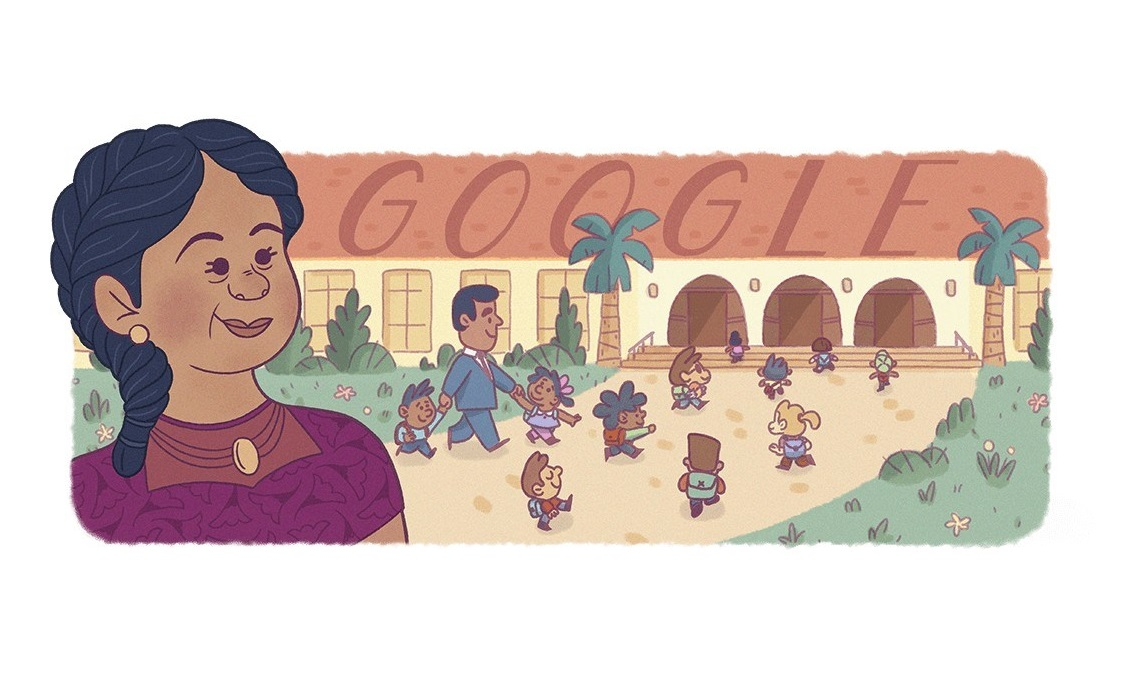 Google Doodle honors Puerto Rican civil rights pioneer Felicitas Mendez