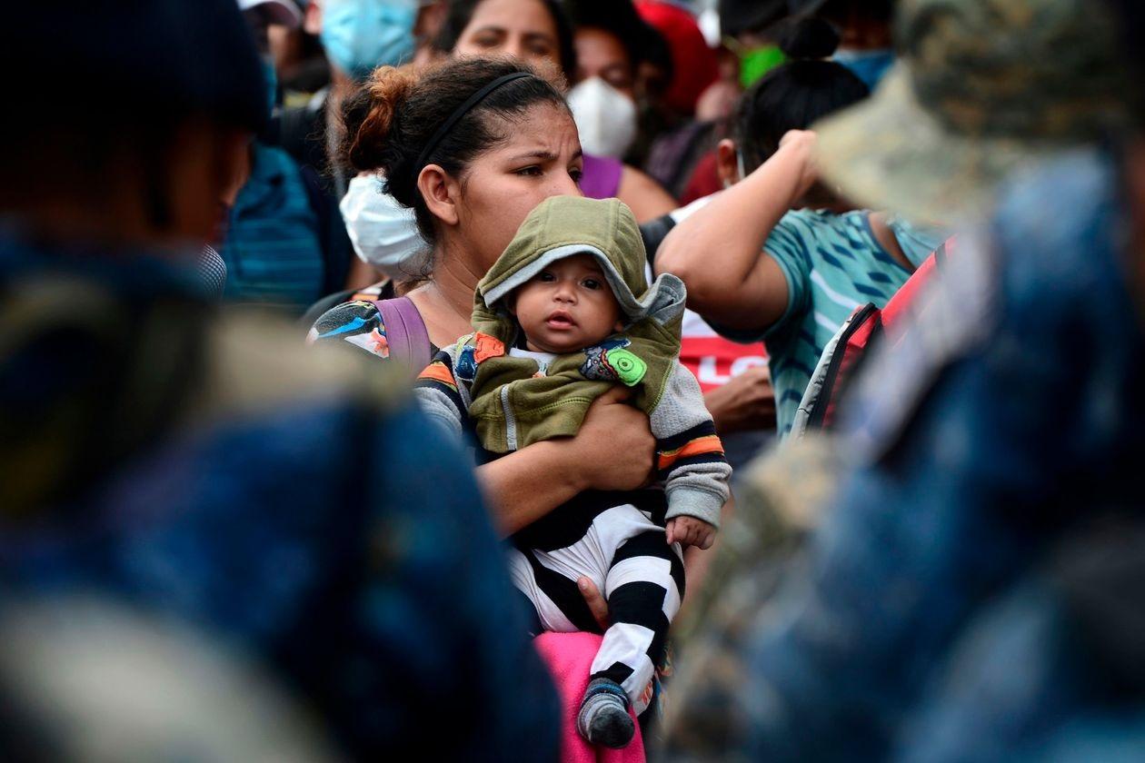 New Migrant Caravan From Honduras Heads Toward U.S. Border