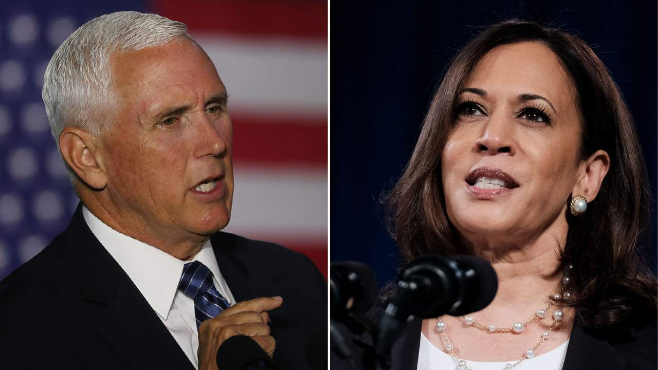 Kamala Harris and Mike Pence VP Debate