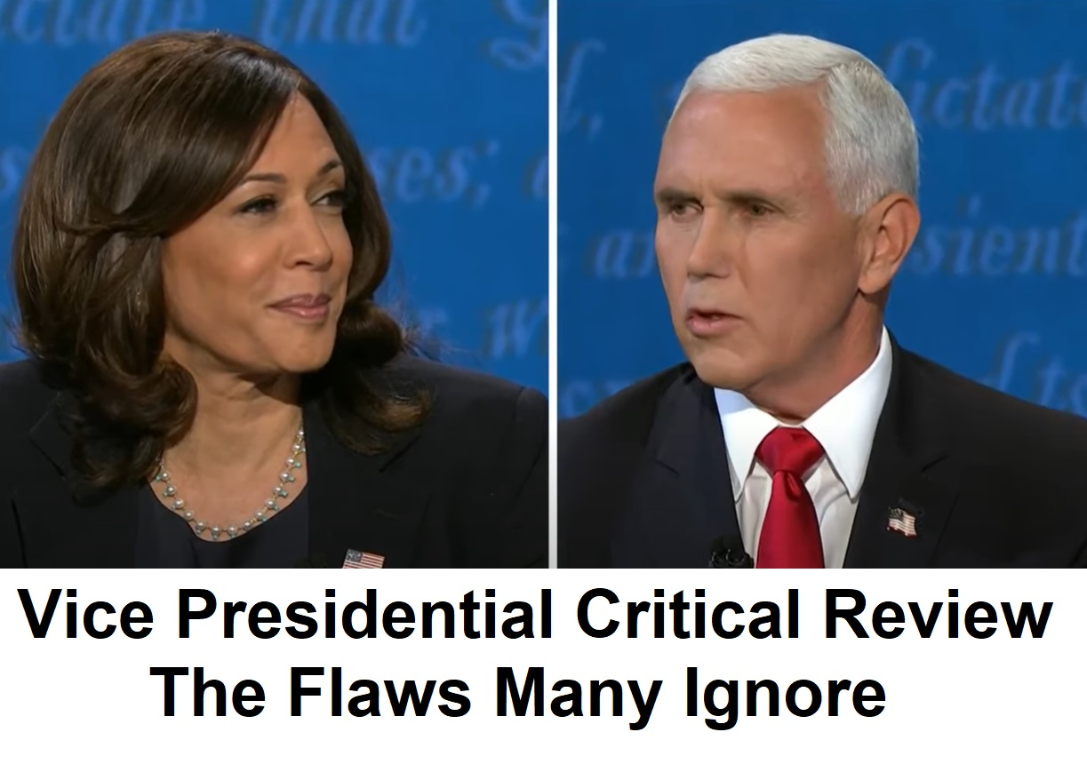 Kamala Fracking Lie and Pence Bias Blind