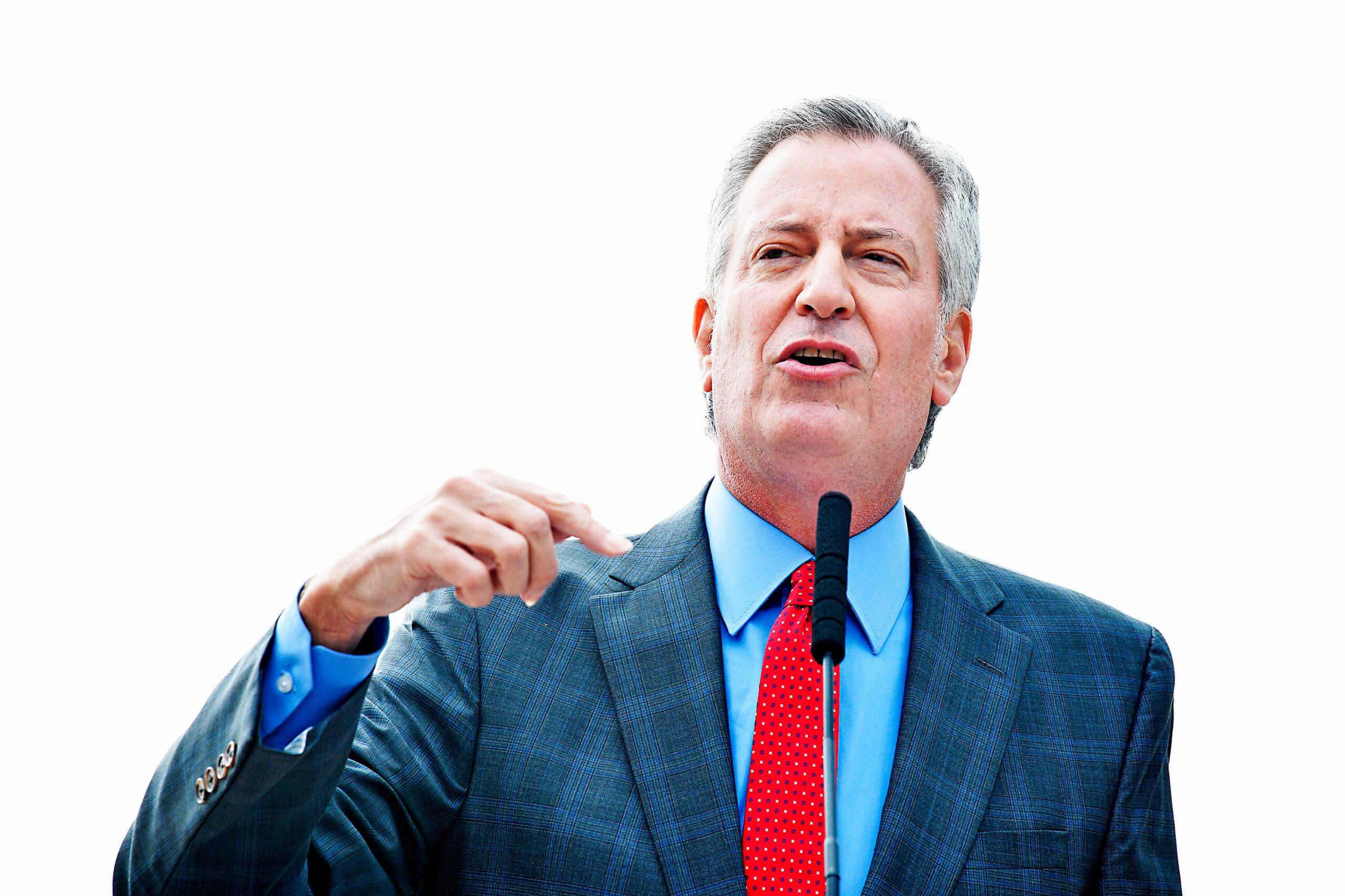 De Blasio wants NYC to shut down COVID-19 hot spots starting Wednesday