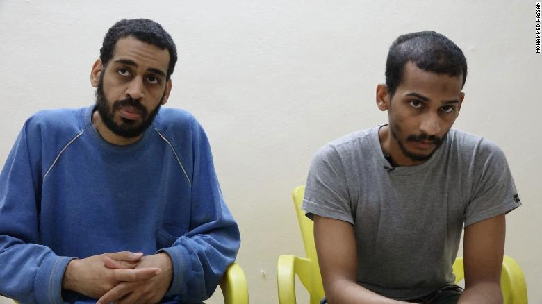 Two ISIS fighters charged in deaths of American journalists and aid workers in Syria