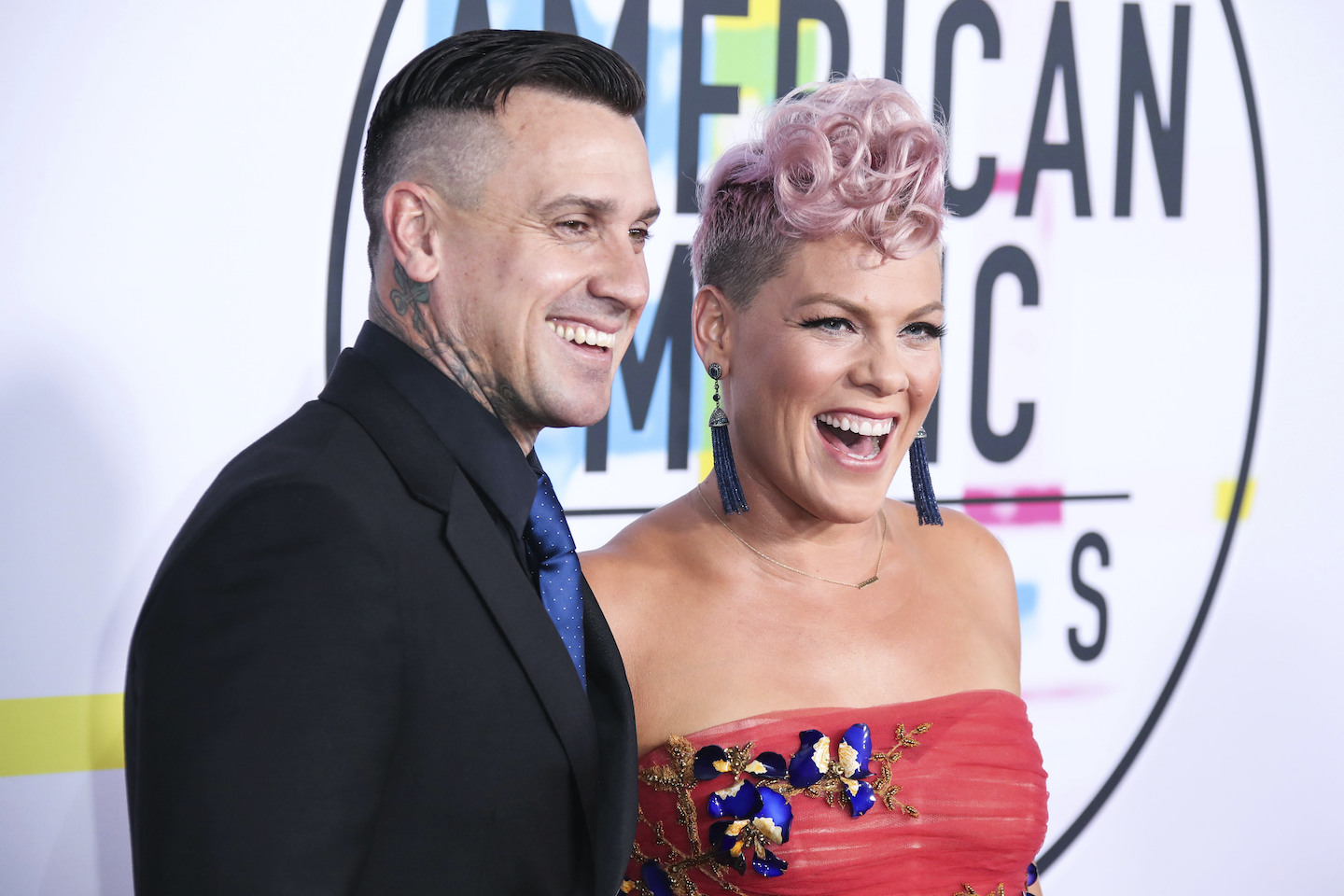 Pink's husband Carey Hart shares video of 9-year-old daughter shooting gun