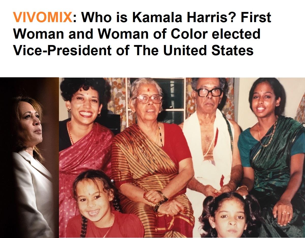 Who is Kamala Harris?