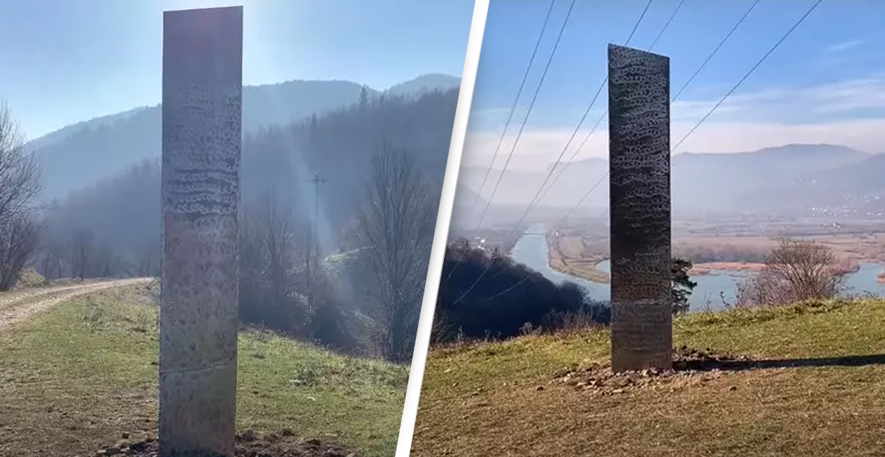 Mysterious Monolith Similar To One Found In Utah Appears On Romanian Hillside