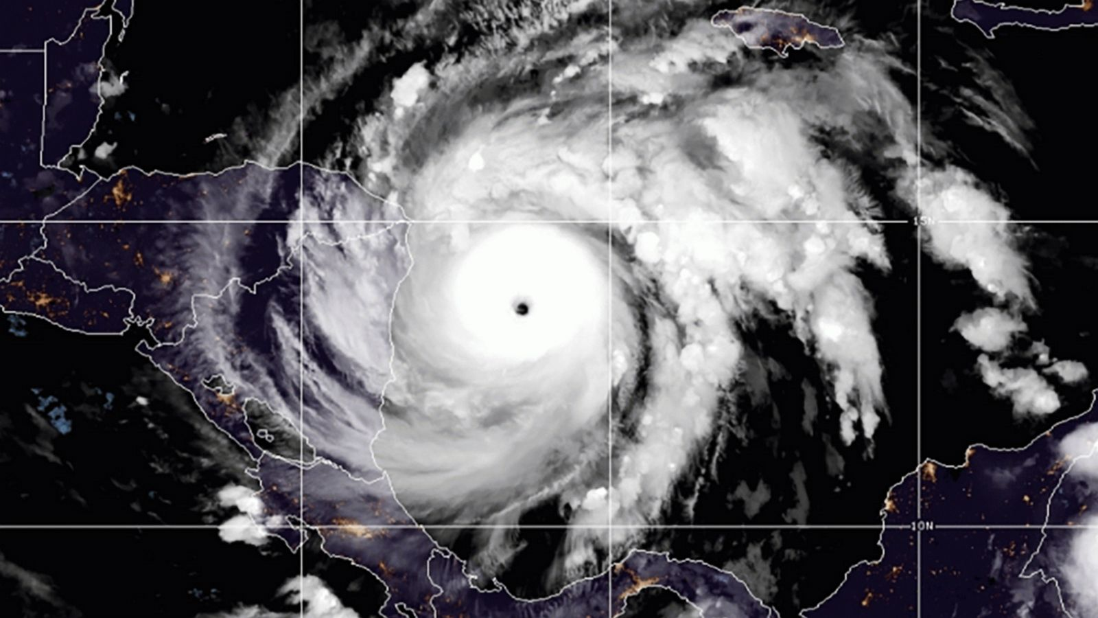 Hurricane Iota strengthens to Category 5 storm as it nears Central America landfall