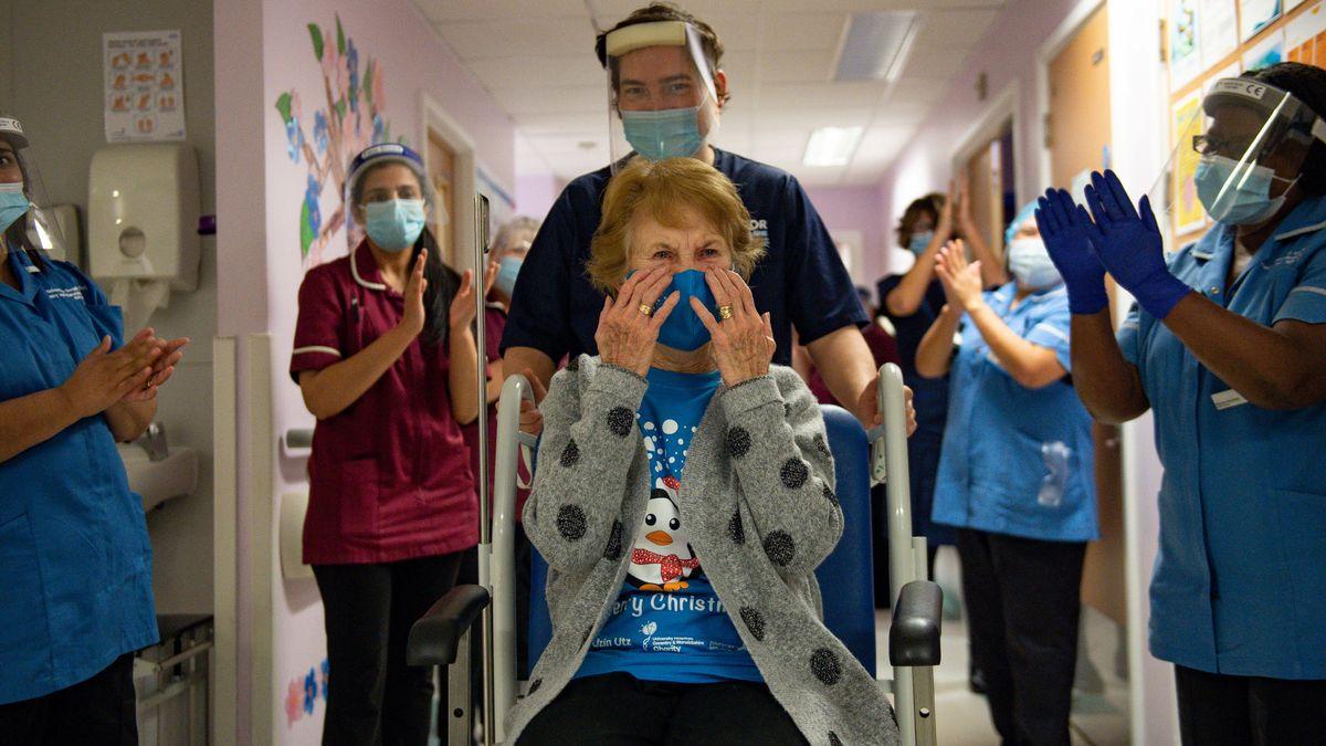 U.K. Begins Nationwide Coronavirus Immunization, Largest In Nation's History