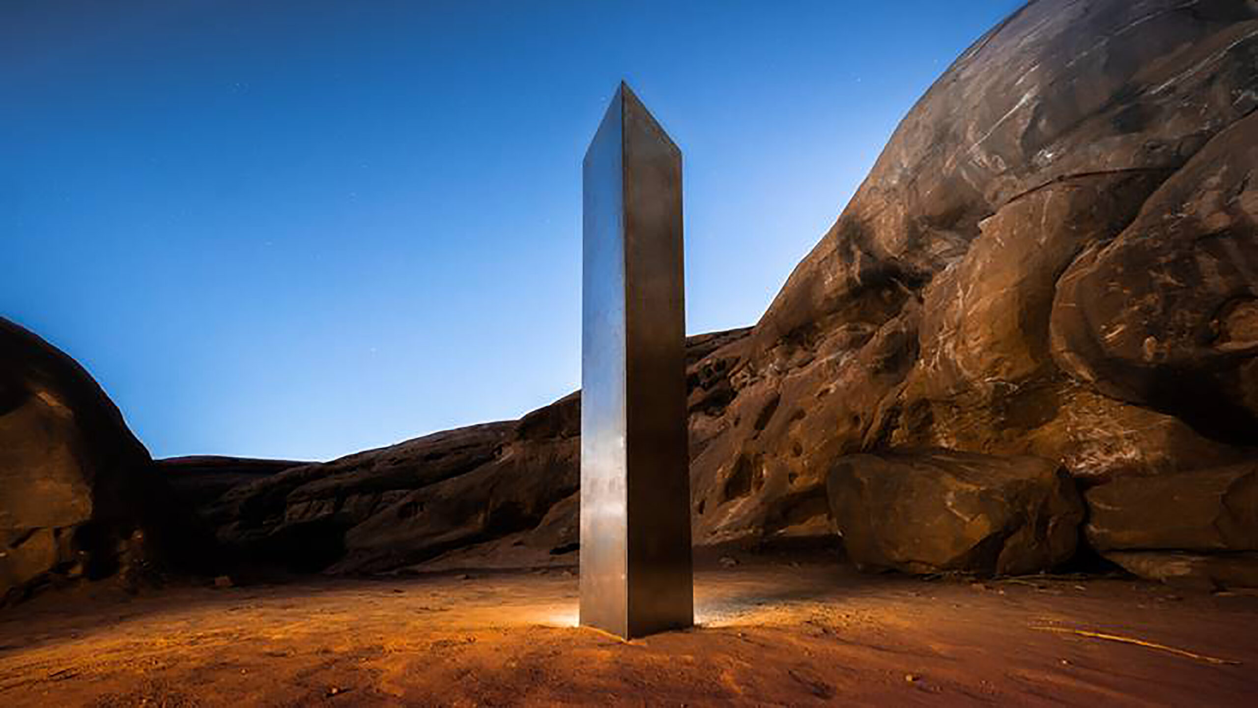 Artists group takes credit for mysterious Utah monolith