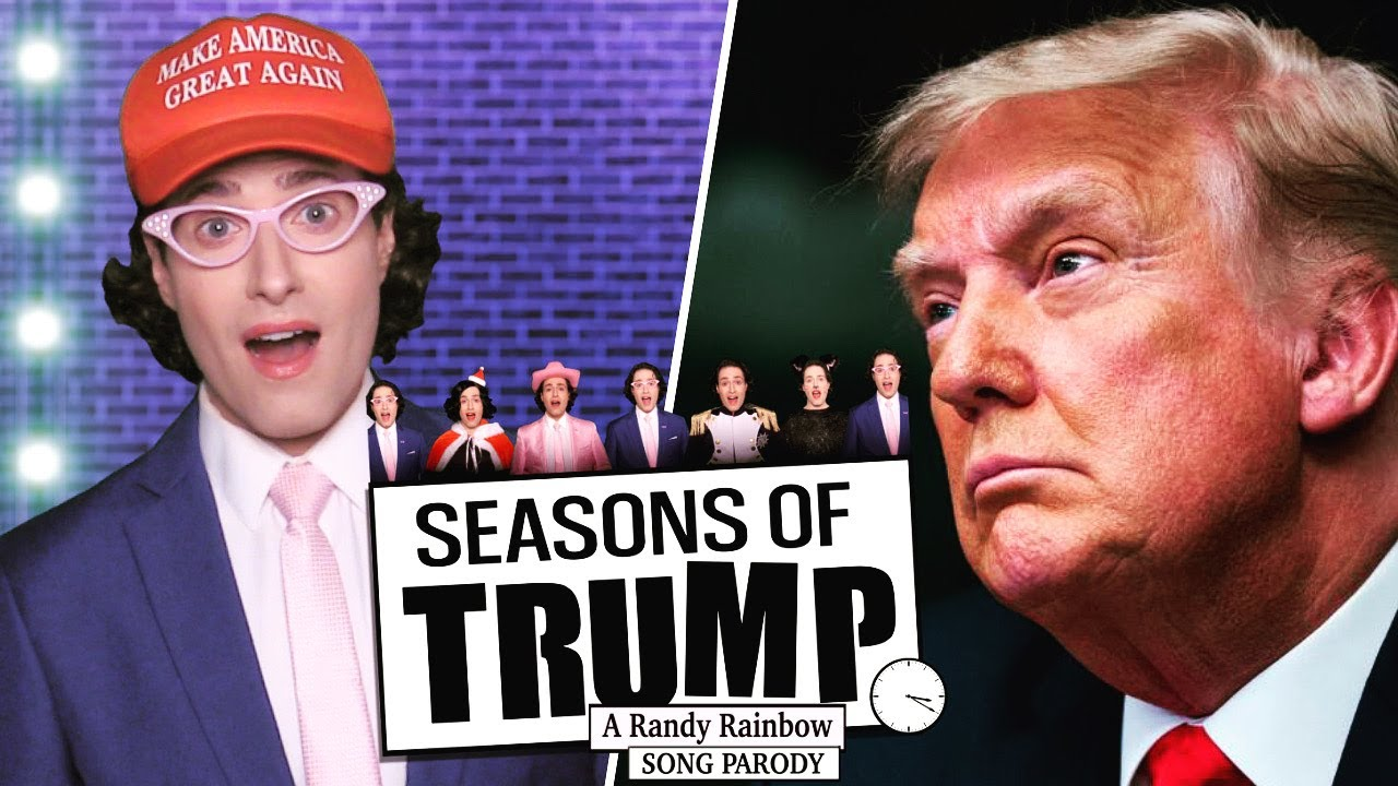 VIDEO: Randy Rainbow Sings a Presidential Send-off with 'Seasons of Trump' RENT Parody!