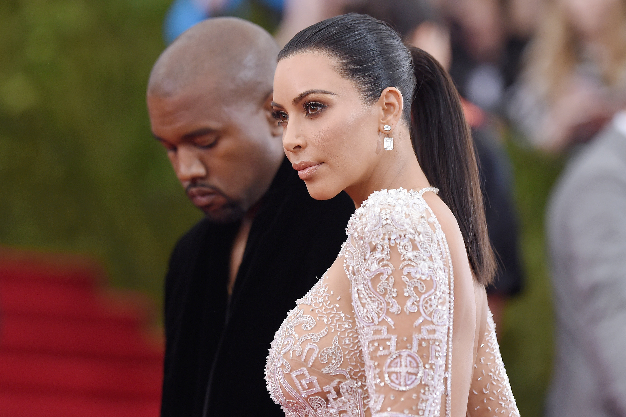 Kim Kardashian files for divorce from Kanye West after nearly seven years of marriage