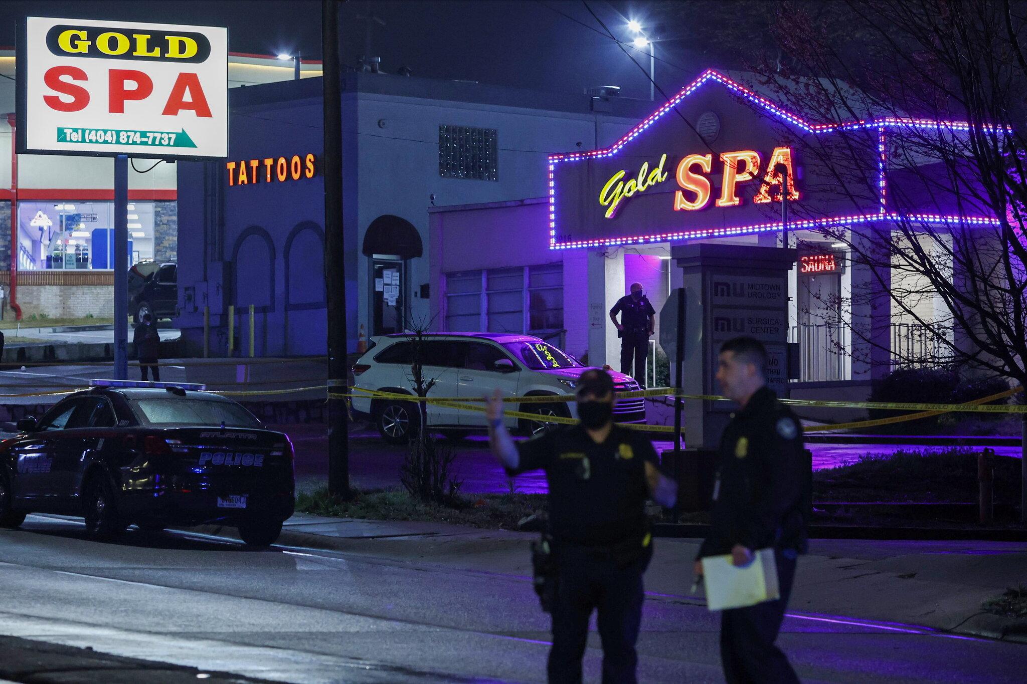 8 People Killed in Atlanta-Area Massage Parlor Shootings