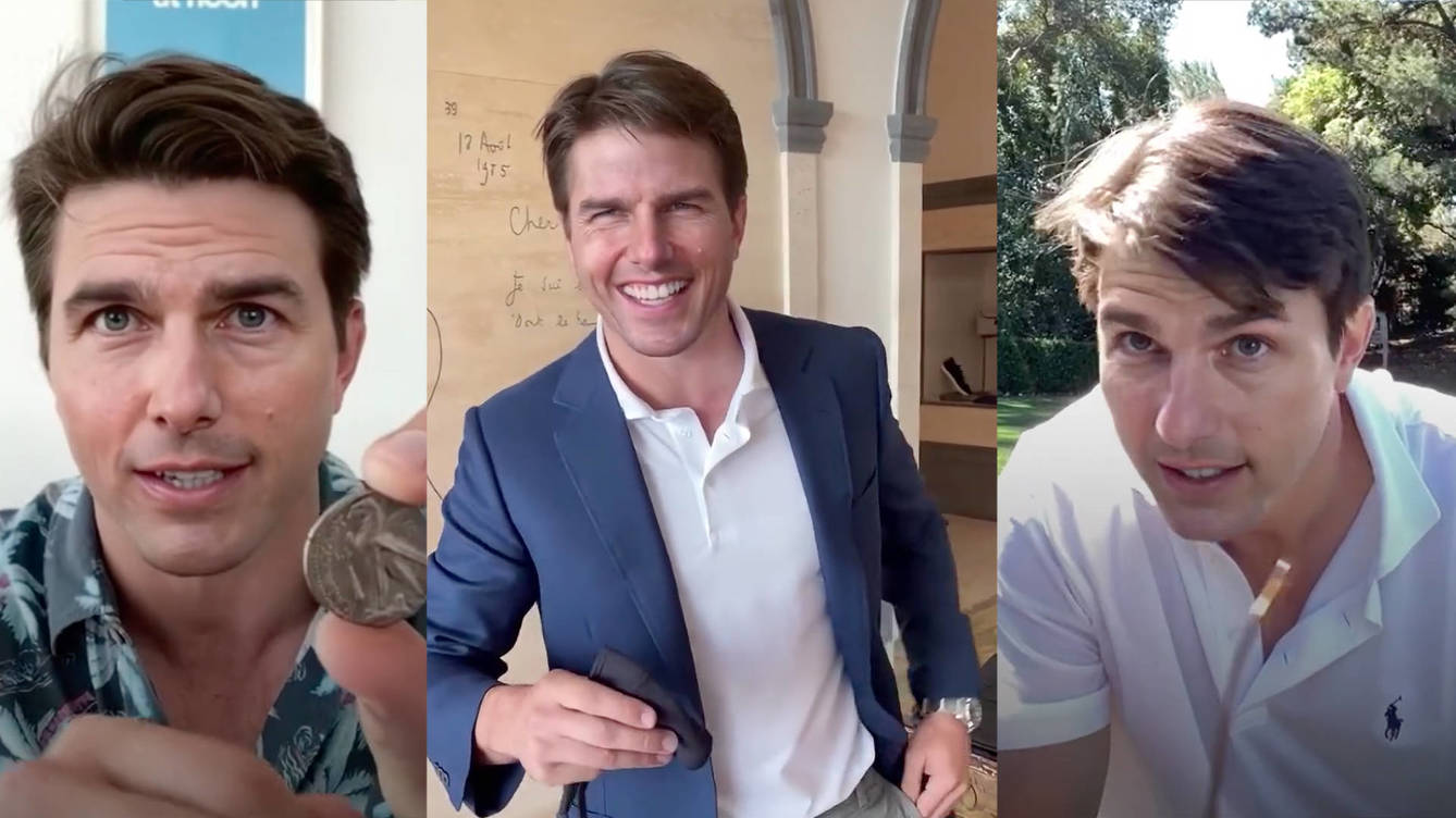 Tom Cruise Deepfakes Go Viral on TikTok