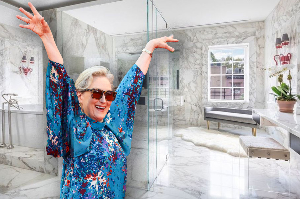 Frozen food tycoon sells Meryl Streep's 'opulent bathroom' for $17.5M