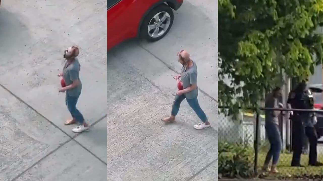 WATCH: Seattle 'Zombie Woman' TikTok Video Causes a Stir