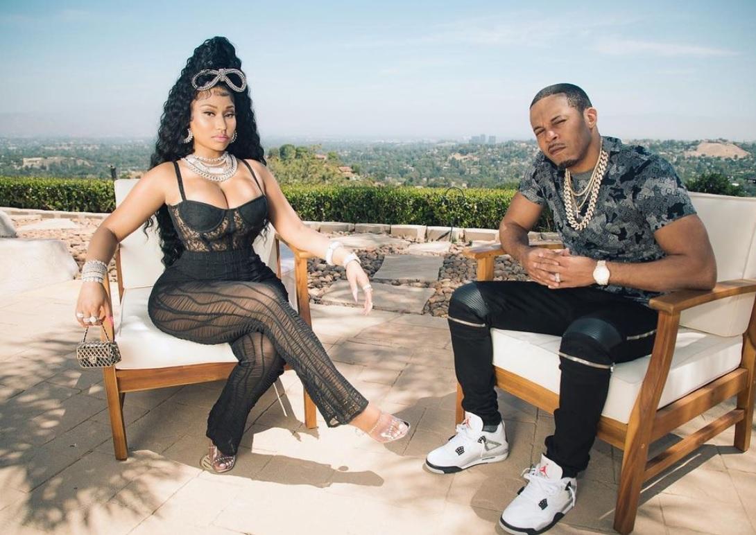 Nicki Minaj shared a rare photo of herself and her husband, Kenneth Petty, on Instagram