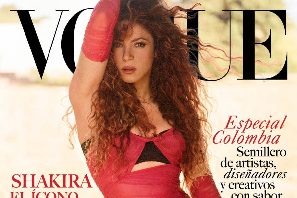 Shakira stars in her first Vogue cover and confirms new album launch