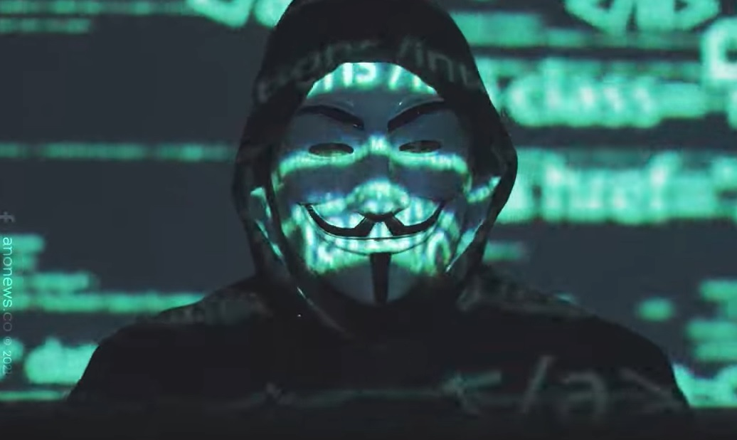 Anonymous Place Elon on Notice over Crypto