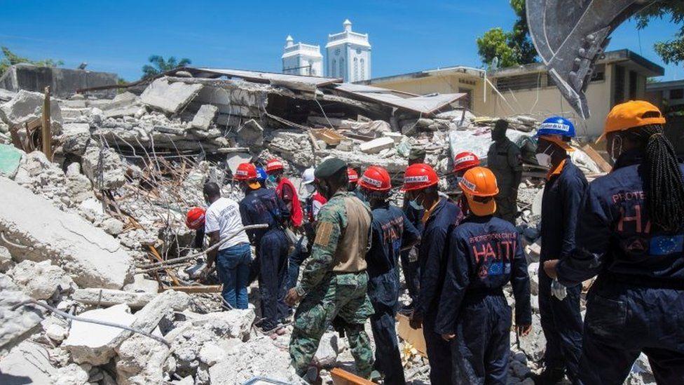 Latest Update on Haiti 7.2 magnitude Earthquake